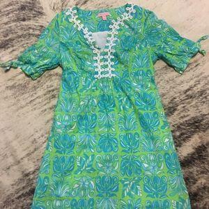 Lilly Pulitzer Empire Waist Dress Women's 10
